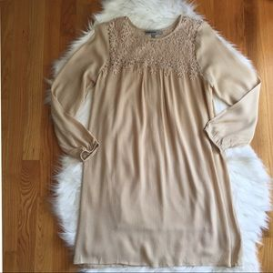 Women's Cream Colored Dress by BaileyBlue Small